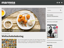 Tablet Preview of marmite.ch